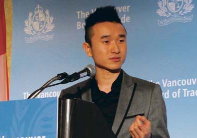 加拿大华裔获学生创业家奖生意涉11个领域(图)