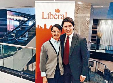 通过自由党内部审查华裔律师拟逐加拿大国会议员
