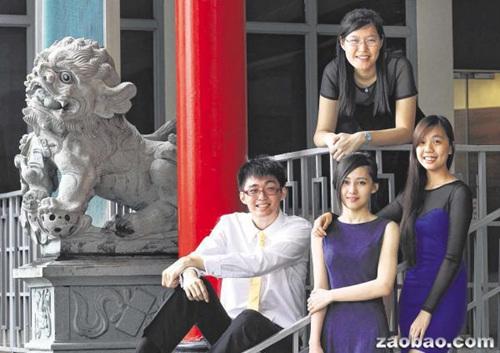 新加坡五少年获奖学金赴华深造称热爱中国文化