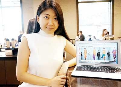 中国留学生登上纽约时装周:时装梦越来越近(图)