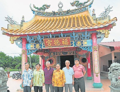 大马边佳兰地段将成新地标8间华人神庙共迁一处