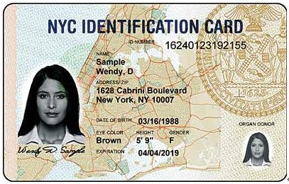 纽约市身份证12日起接受申请惠及非法移民(图)