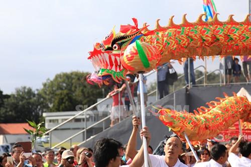 新西兰奥克兰举办新春花市同乐日