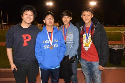 美国南加州华裔兄弟获2015科学奥林匹克赛冠军