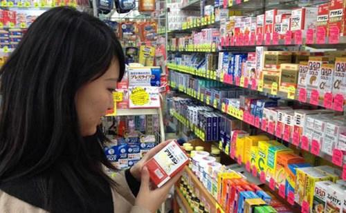 """日本药品成中国游客""""新宠""""名牌产品倍受青睐"""