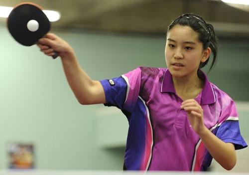 13东华裔成美乒乓国家队最年轻球员梦想冲刺奥运