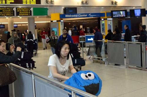 纽约肯尼迪机场无照出租车横行华人遭勒索(图)