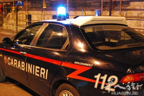 罗马窃贼夜盗华人商店遭宪兵逮捕被判监禁8个月