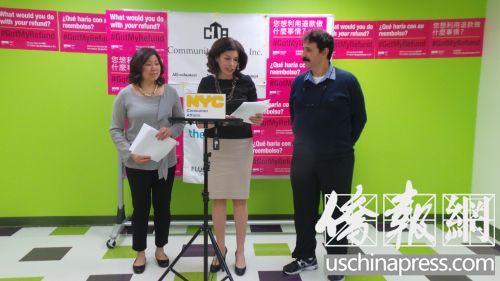 美华裔国会议员孟昭文吁工薪家庭用免费报税服务