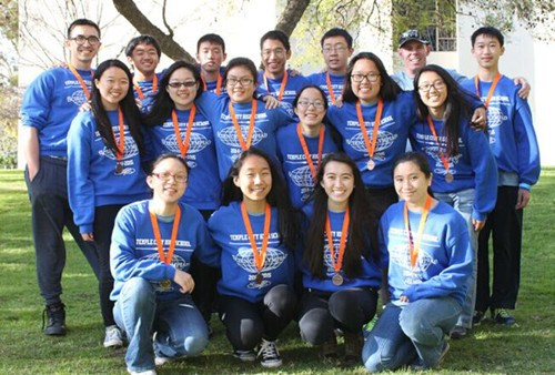 美洛杉矶县奥林匹克科学竞赛华裔学生捷报频传