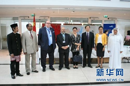 中国文化在科威特海湾科技大学受追捧(图)