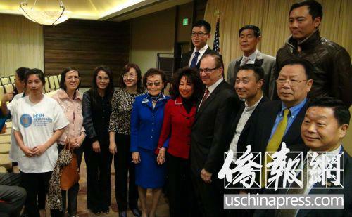 加州参议员改选县政委员获近百华裔政商代表支持