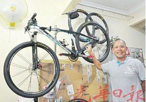 大马华裔电脑工程师热爱骑车成绩傲人获11个冠军