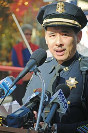 旧金山警局华裔指挥官将升职感谢华人小区支持