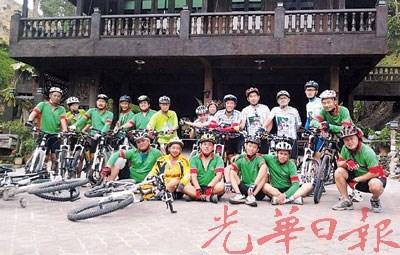 大马33岁华裔重骑自行车探索新地点增见闻(图)