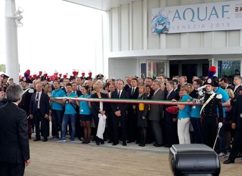 米兰世博会威尼斯水馆开幕中华文化浓重受欢迎