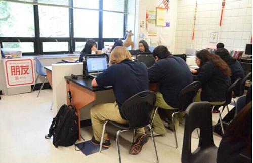 美国休斯敦地区中文选修课受欢迎8成学生非华裔