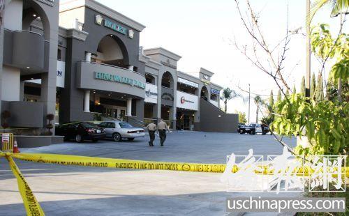 美华裔珠宝店被抢劫匪扮买家试戴时抢名表(图)