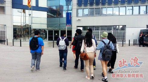 西班牙受学校倒闭影响中国留学生报警华社伸援手