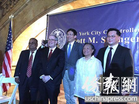纽约市审计长庆祝亚裔传统月表彰四位杰出亚裔