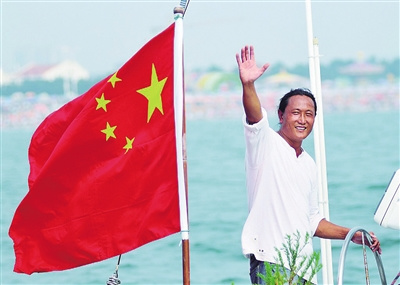 中国环球航海第一人翟墨领航重走海上丝绸之路