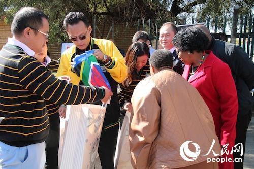 """南非非国大华人党员启动""""学生赞助""""计划(图)"""