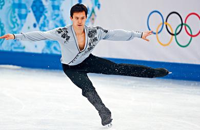 华裔花式溜冰好手陈伟群。(加拿大《星岛日报》资料图)