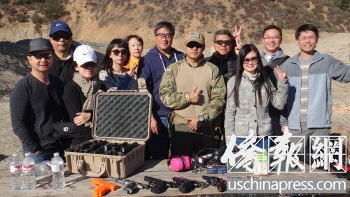 美劫案频发华人缺乏安全感成立枪友协会学自保