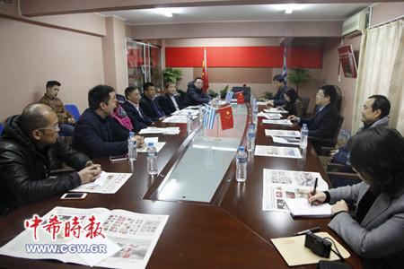 中希合作愈趋紧密中国驻希腊大使盼侨商把握商机
