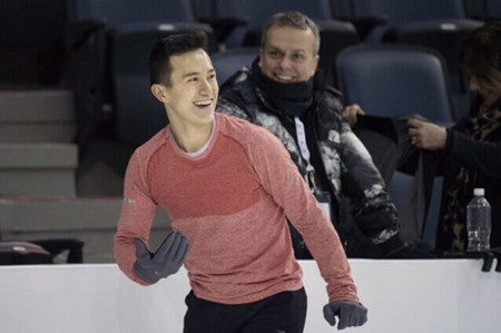 华裔名将陈伟群第八次斩获加拿大男子滑冰冠军