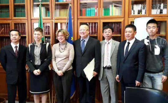 意卫生部长晤意中发展基金代表冀加强中西医合作