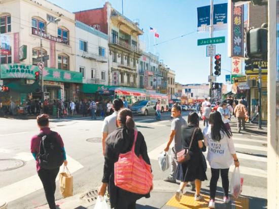 抢金项链的暴力罪案再在旧金山华埠出现