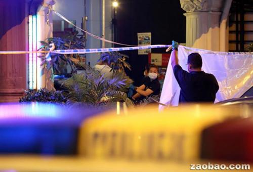 新加坡一华裔男子旅舍外被捅多刀丧命嫌犯逃跑
