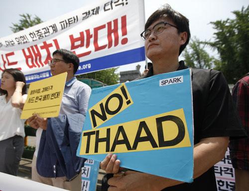 """媒体称""""萨德""""令韩旅游业紧张担心中国游客骤减"""