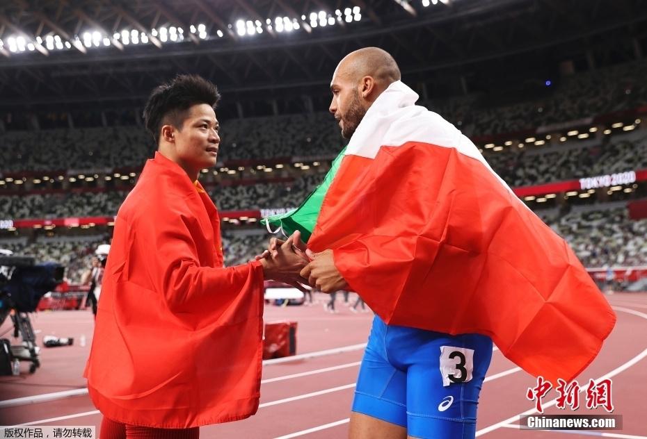 【奥运画刊】是对手,也是朋友