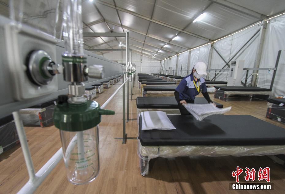 """印尼将开放""""氧气屋"""" 为新冠患者提供治疗"""