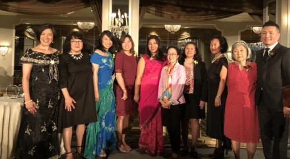 """美纽约亚裔组织颁""""亚裔精神奖"""" 华裔杰出人士获奖"""