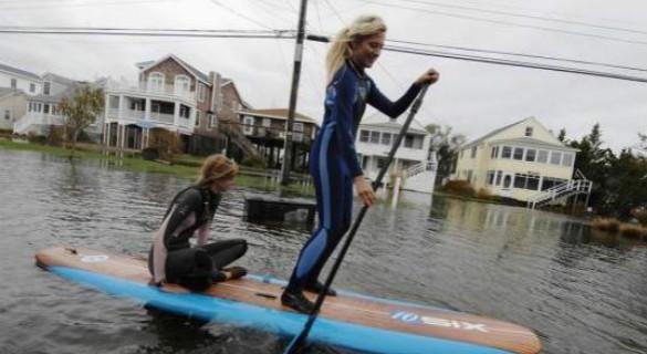 研究:海平面上升 纽约华裔聚居区域或面临洪水威胁