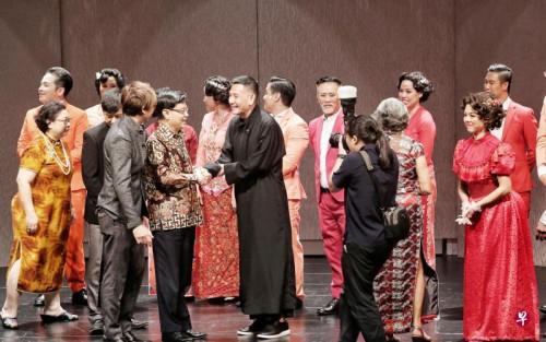 纪念新加坡已故侨领林文庆音乐剧在新加坡首演