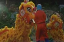 华人在印度传授武术与舞狮