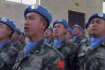 维和部队官兵同唱《我和我的祖国》