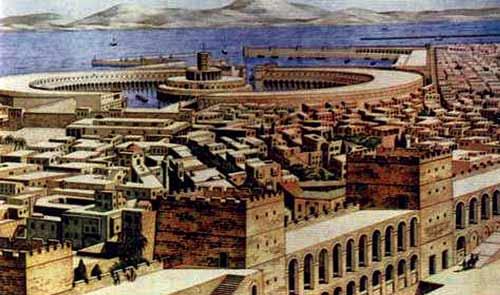 神秘而忧伤的迦太基古城
