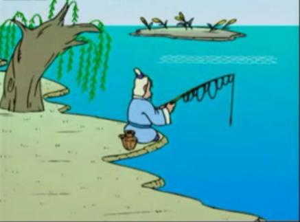 太公钓鱼愿者上钩