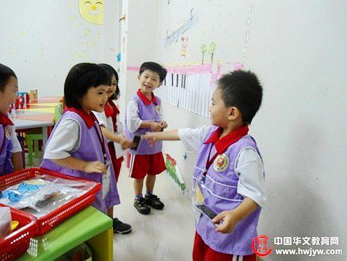 印尼崇文三语幼儿园情境浸入汉语教学吸引华童