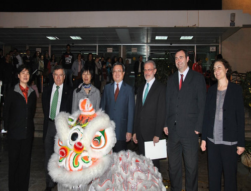 西班牙瓦伦西亚大学孔子学院喜迎建院4周年