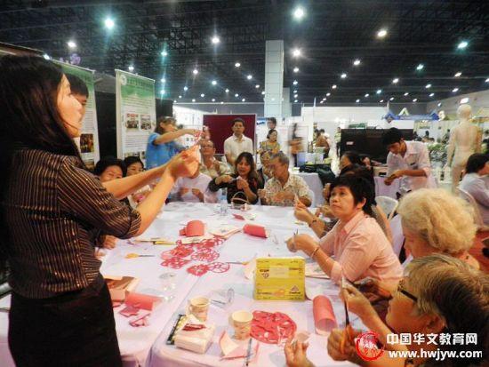 泰国农业大学孔子学院开展中华文化宣传活动