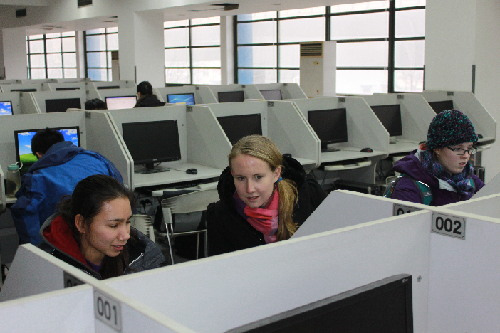 麻省理工学院短期强化班在天津财经大学开班(图)