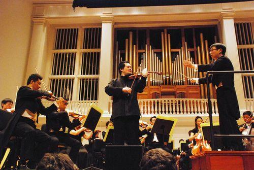 张大卫)-中国国家交响乐团芝加哥演出获成功