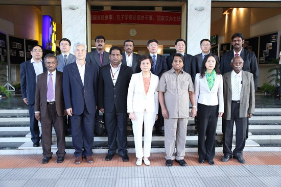 国家汉办主任访问印度韦洛尔科技大学孔子学院