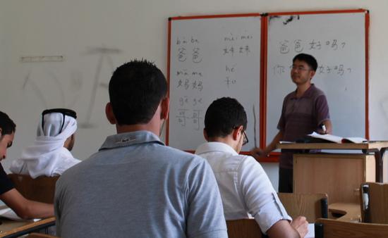 约旦费城大学孔子学院暑期汉语教学结硕果(图)